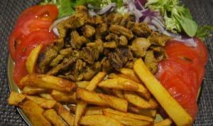 Kebab à l'agneau