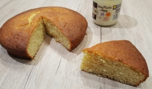 Gâteau à la crème fraîche