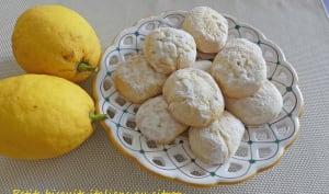 Petits biscuits italiens au citron