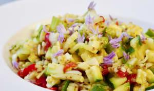 Salade poivron fenouil courgette ultra fraîche