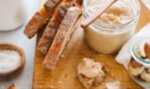 Purée de noix de cajou et amandes