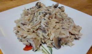 Le risotto aux champignons
