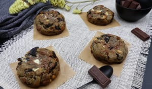 Cookies double chocolat et oréo