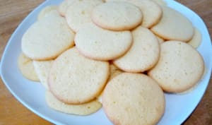 Les biscuits au citron