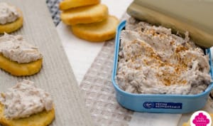 Tartinade de sardines au fromage frais