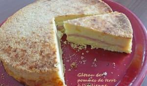 Gâteau de pommes de terre à l'italienne