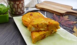 Quiche sans pâte à la butternut et chorizo