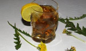 Thé glacé detox aux fleurs de pissenlit