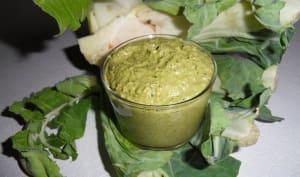 Pesto de côtes et de feuilles de chou-fleur
