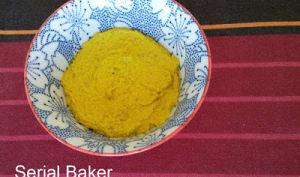 Tartinade à la courgette grillée et curcuma