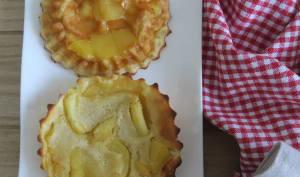 Crépiaux à la pomme au four