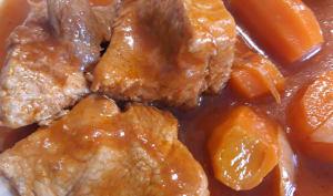 Sauté de porc aux carottes