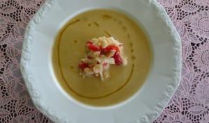 Crème de haricots coco
