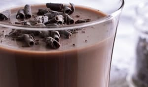 Panna cotta chocolat vanille