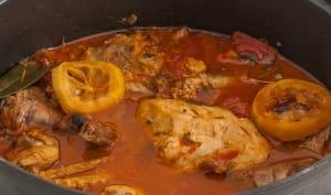 Ragoût de poulet croate