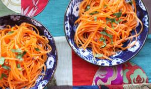 Salade de carottes à la chinoise