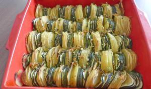 Tian pommes de terre courgettes
