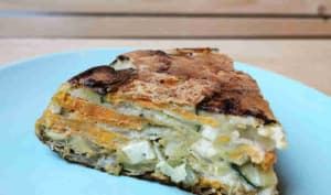 Frittata courgette patate douce