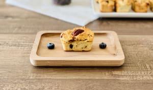 Mini cake érable canneberge pacanes
