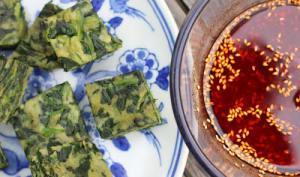 Bouchées vapeurs d'épinards à la chinoise