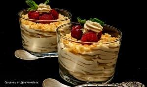Crème Mascarpone au Spéculoos.