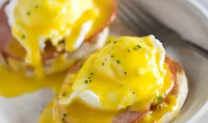 Sandwich aux œufs à l'anglaise