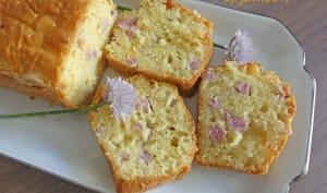 Cake au reblochon et jambon