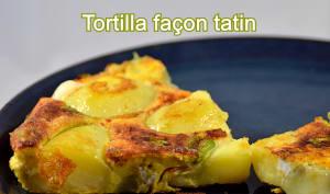 Tortilla façon tatin