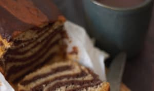 Marbré chocolat cacahuète
