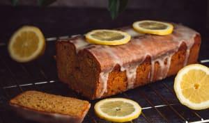 Gâteau moelleux au citron et graines de chia