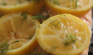 Truite au citron