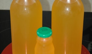 Sirop citron ou orange