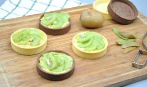 Tartelettes kiwi fleur oranger