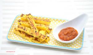 Frites de polenta sauce arrabbiata