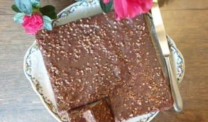 Gâteau au chocolat léger à la courgette