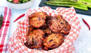 Hauts de cuisse de dindon cajun grillés sur le BBQ