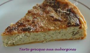 Tarte grecque aux aubergines