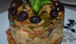 Sablé provençal aux légumes de l'été