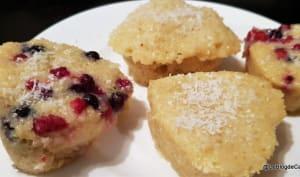 Mini cakes rapides à la noix de coco