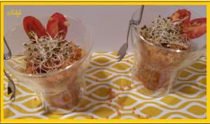 Salade de lentilles corail