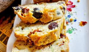 Cake végétal aux olives