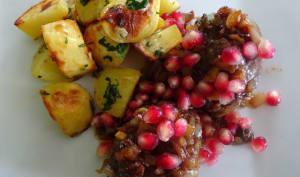 Kefta et pommes de terre à la libanaise