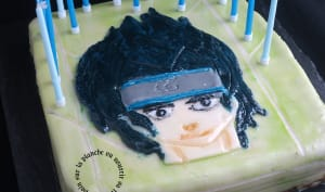 Gâteau d'anniversaire Sasuke Ishiwa