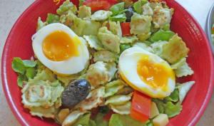 Salade aux ravioles