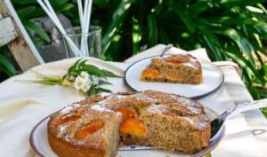 Gâteau aux abricots et sarrasin