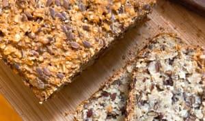 Pain aux graines sans farine