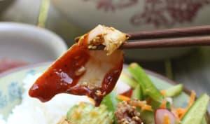Calamar grillé à la vietnamienne