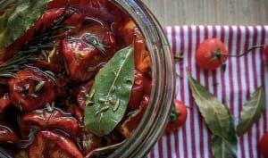Tomates séchées à la sicilienne