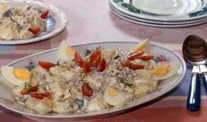 Salade de pommes de terre au hareng