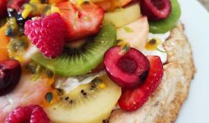 Dacquoise aux fruits frais
